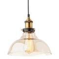 Redo 01-1002 - Lámpara colgante SAVILLE 1xE27/42W/230V