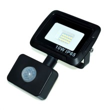 Reflector LED con sensor LED/10W/230V IP65 4500K