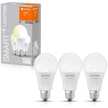 SET 3x LED Bombilla regulable SMART+ E27/14W/230V 2700K wi-fi - Ledvance