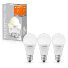 SET 3x LED Bombilla regulable SMART+ E27/9W/230V 2700K wi-fi - Ledvance