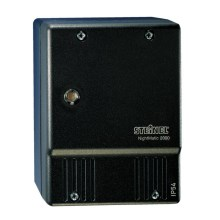 STEINEL 550318 - Interruptor crepuscular NightMatic 2000 negro IP54