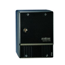 STEINEL 550516 - Interruptor crepuscular NightMatic 3000 Vario negro IP54