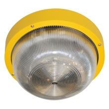 Top Light 95 SA - Plafón exterior 1xE27/60W/230V IP44 amarillo