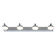 Top Light - LED Aplique para el baño HUDSON 4xLED/5W/230V IP44