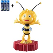 Varta 15635 - Lámpara LED nocturna infantil MAYA THE BEE LED/3xAA