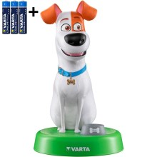 Varta 15641 - LED Lámpara infantil THE SECRET LIFE OF PETS LED/3xAAA