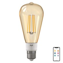 Xiaomi Yeelight - Bombilla LED Regulable FILAMENT ST64 E27/6W/230V 2700K